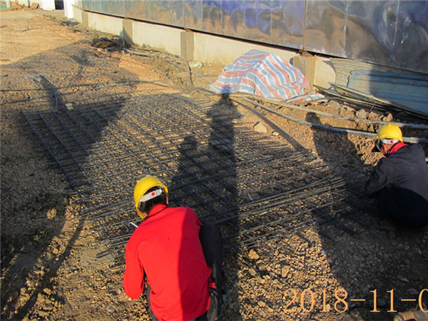 地面钢筋网应用案例
