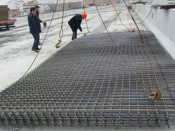 桥梁钢筋网片应用案例